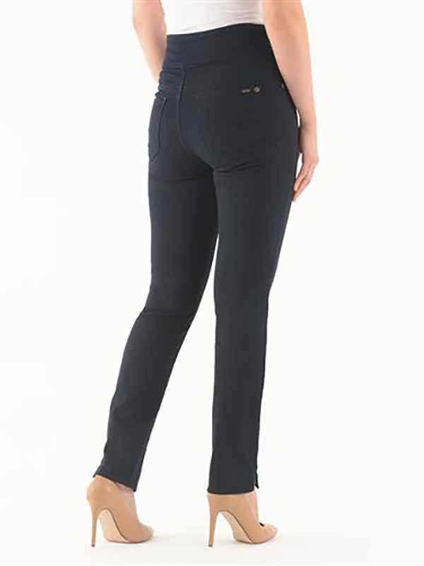 jeans Liette Lois #2174-5060 taille confortable pull-on denim femme