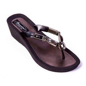 Sandale Grandco talon compensé #26255