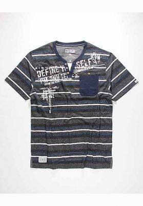 T-Shirt rayure Private Member #76718