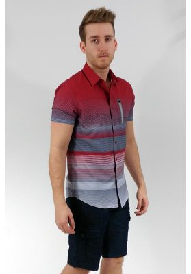 chemise point zero 7054708 rouge