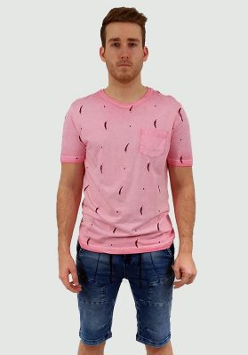 t-shirt point zero 7051109 rose