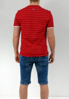 T-shirt point zero 7051266 rouge