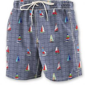 Short maillot California Moonrise Homme CM55209 marine