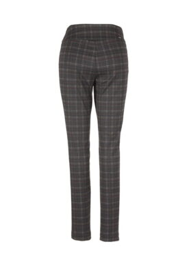pantalon Up 66018 carreau pull on