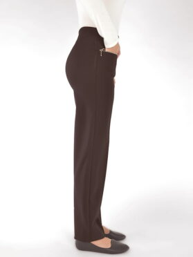 pantalon Mode de vie R777-2332 coffee